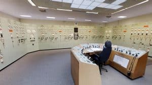 Electrical Control Room - ChapelCross Nuclear Power Station